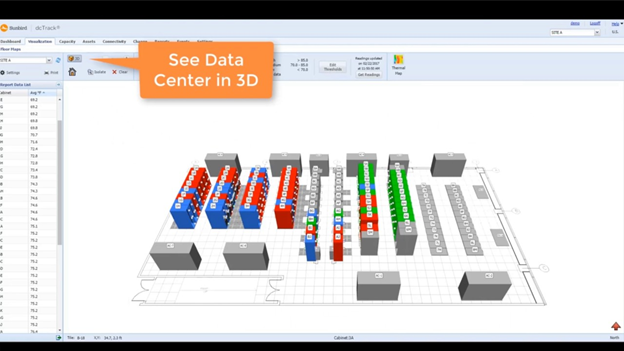 3D Data Centre