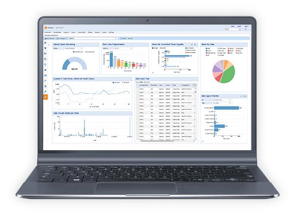 DCIM Software Dashboard