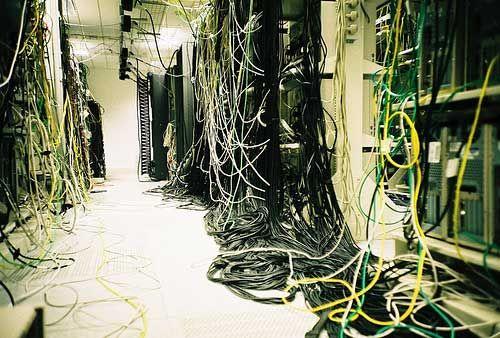 DC Cable Spaghetti